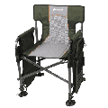Ozark Trail Fishing Steel Director's Chair with Rod Holder, Green