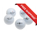 Top Flite Golf Balls, Used, Mint Quality, 48 Pack