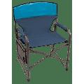 Rio Brands Broadback XXL Directors Chair - Blue Sky and Navy