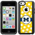 Michigan Polka Dots Design on OtterBox Commuter Series Case for Apple iPhone 5c