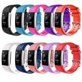 Fitbit Charge 2 Watch Bands, Mignova Soft Silicone Replacement Sport Watch Wrist Band Strap for Fitbit Charge 2 Fitness Tracker - Large Size [10 Color Pack]