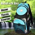 Sunrise Outdoor Hiking Camping Travel Backpack Hydration Pack Trekking Multi-Pockets Bag(Blue2)