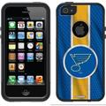 St. Louis Blues Jersey Stripe Design on OtterBox Commuter Series Case for Apple iPhone 5/5s