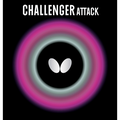 Butterfly Challenger Attack Table Tennis Rubber Butterfly Table Tennis Rubber 1.5 mm, 1.9 mm, or 2.1 mm Red or Black 1 Pips Out Table Tennis Rubber Sheet Professional Table Tennis Rubber
