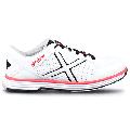 KR Strikeforce Mens Ranger Bowling Shoes- White/Black/Red 9 1/2