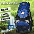 SunriseOutdoor Hiking Camping Travel Backpack Hydration Pack Trekking Multi-Pockets Bag(Blue1)