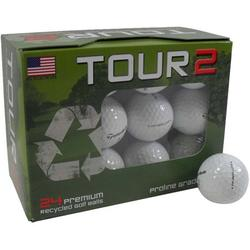TaylorMade TP Golf Balls, Used, 24 Pack