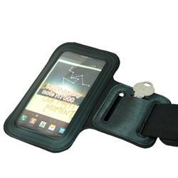 Gym Workout Sports Running Armband Case Cover Band Arm Strap B2O for LG Google Nexus 5X, G Flex 2, Tribute 5, Prime 2, Phoenix 3 2, Harmony 2, Fortune 2, Aristo 4 Plus 2 Plus, K8 Plus (2018)