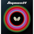 Butterfly Dignics 64 Table Tennis Rubber Butterfly Table Tennis Rubber 1.9 mm or 2.1 mm Red or Black 1 Inverted Table Tennis Rubber Sheet Professional Table Tennis Rubber