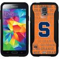 Syracuse Orange Repeating Design on OtterBox Commuter Series Case for Samsung Galaxy S5