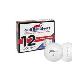 Titleist 2016 Pro V1x Golf Balls, Prior Generation, Used, Near Mint Quality, 132 Pack