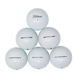 Titleist Pro V1x Golf Balls, 50 Mint Quality Used Pro V1x Golf Balls (AAAAA No logos or player markings ProV1x Golfballs)