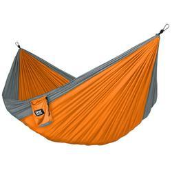 Neolite Single Camping Hammock - Lightweight Portable Nylon Parachute Hammock for Backpacking, Travel, Beach, Yard. Hammock Straps & Steel Carabiners Included
