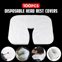 100pcs Disposable Face Cradle Covers Non-Sticking Massage Face Covers Headrest Covers For Massage Tables & Massage Chairs