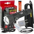 Klarus XT11S CREE XP-L HI V3 LED Tactical Flashlight + USB Wall & Car Plug