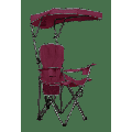 Quik Chair Max Shade Adjustable Folding Camp Chair - Red/Gray