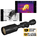 Refurbished ATN ThOR 4 7-28x, 384x288, Thermal Rifle Scope w/Ultra Sensitive Next Gen Sensor, WiFi, Image Stabilization, Range Finder, Ballistic Calculator and IOS and Android Apps