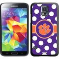 Coveroo Clemson, Polka Dots design on Samsung Galaxy S5 Thinshield Case by Coveroo