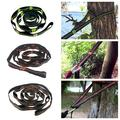 SUPERHOMUSE Outdoor Camping Climbing Portable Nylon 1000D Tree Hanging Durable Hammock Straps Rope Belt 280cm