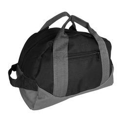 "DALIX 12"" Mini Duffel Bag Gym Duffle in Black-Gray"