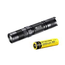 NITECORE P12 2015 LED Precise Tactical Pocket Flashlight 1000 Lumens CREE XM-L2 U2 LED Waterproof