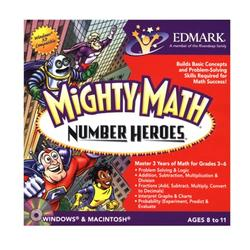 Mighty Math Number Heroes for Windows and Mac- XSDP -LLMIGNUHEJ - Mighty Math Number Heroes teaches your 3rd, 4th, 5th or 6th grader the concepts, facts and thinking skills necessary to build mat