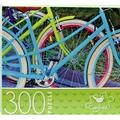 Cardinal Jigsaw Puzzles for Adults Kids 300 Piece 14 in. x 11 in. Bicycles