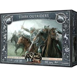 CMON A Song of Ice & Fire: Tabletop Miniatures Game - Stark Outriders
