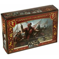 CMON A Song of Ice & Fire: Tabletop Miniatures Game - Lannister Halberdiers