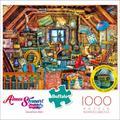 Buffalo Games Aimee Stewart Grandma's Attic 1000 Pieces Jigsaw Puzzle
