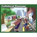 Collateral Damage Anime Board Game LOL Neo Japan Family Fun Rare Cartoon Gozer Games GOZ-001