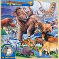 MasterPieces Wood Fun Facts - Ice Age Friends 48pc Wood Puzzle