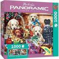 MasterPieces - Artist Panoramic - Flower Box Playground - 1000 Piece Panoramic Jigsaw Puzzle
