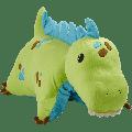 "Pillow Pets 18"" Green Dinosaur Stuffed Animal Plush Toy Pillow Pet"