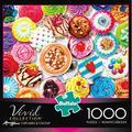 Buffalo Games Vivid Cupcakes & Cocoa 1000 Piece Jigsaw Puzzle