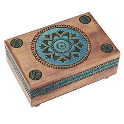 Blue Kaleidoscope - Secret Wooden Puzzle Box