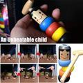 1PC Magicfly Funny Toy Magic Gift Small Wooden Unbreakable Man Puppet Funny Toy Gift for Adult Kids for Christmas Birthday Gifts