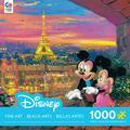 Ceaco 1000-Piece Disney Fine Art Paris Sunset Puzzle