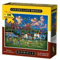 Golden Gate Bridge Pre-Colored 3-D Wooden Puzzle Construction Kit - Famous Sites / Buldings Theme - Affordable Gift For Kids and Adults - Item #C1401, Great educational.., By Puzzled