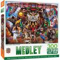 MasterPieces Medley - Animal Totems - 300 Piece EZGrip Puzzle