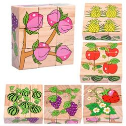Six-face Picture Wooden Jigsaw 3D Puzzle Toys Children's Early Educational Toy Cube Jigsaw Puzzle;Six-face Picture Jigsaw 3D Puzzle Toys Children's Early Educational Toy