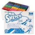 Scented Stix Watercolor Marker Set, Fine Bullet Tip, Assorted Colors, 216/Set