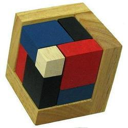 4D Wooden Puzzle Brain Teaser
