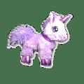 DanDee Posh Purple Unicorn Plush Toy Stuffed Animal