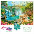 Buffalo Games Aimee Stewart Majestic Tiger Grotto 1000 Pieces Jigsaw Puzzle
