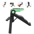 Peroptimist Mini Tripod Phone Mount Portable and Adjustable Phone Stand Holder Compatible for Various Devices GREEN