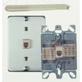 Allen Tel Products AT630AIP-6 WALL TELE JACK SS/COVER
