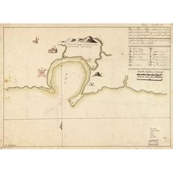 LAMINATED POSTER20x30 Plano del Puerto de Plata situado en la costa del norte la Ysla de Santo Domingo en la latd. de 19 gs. 43 ms. N. y en la longd. de 306 gs. ...
