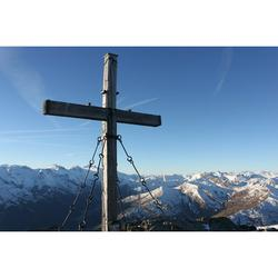 Summit Cross Schwendberg Rastkogel Zillertal Summit-12 Inch BY 18 Inch Laminated Poster With Bright Colors And Vivid Imagery-Fits Perfectly In Many Attractive Frames