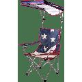 U.S. Flag Shade Chair